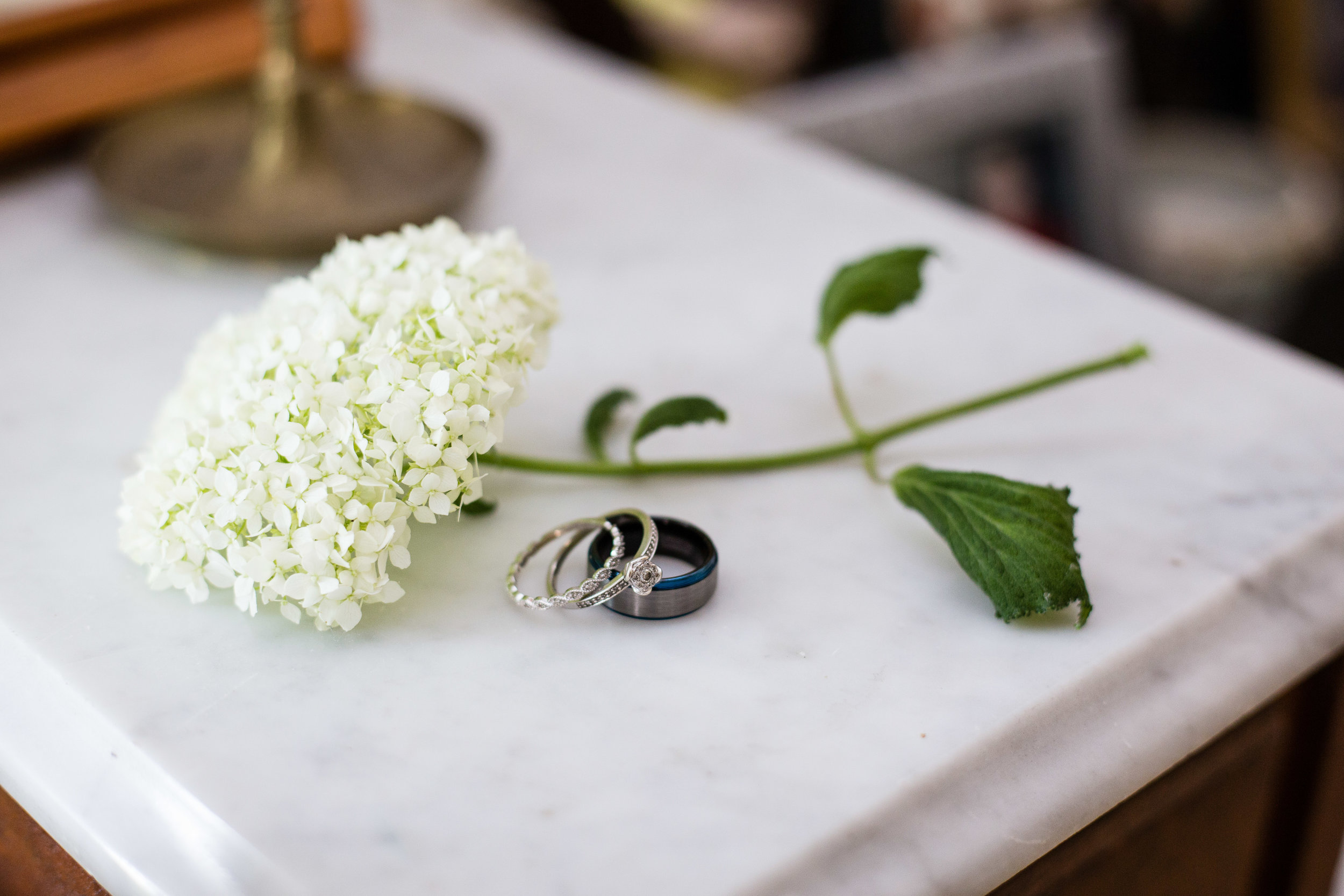 Grand Ledge Michigan Wedding Details - Flower with Rings_Tania Howard Photography.jpg