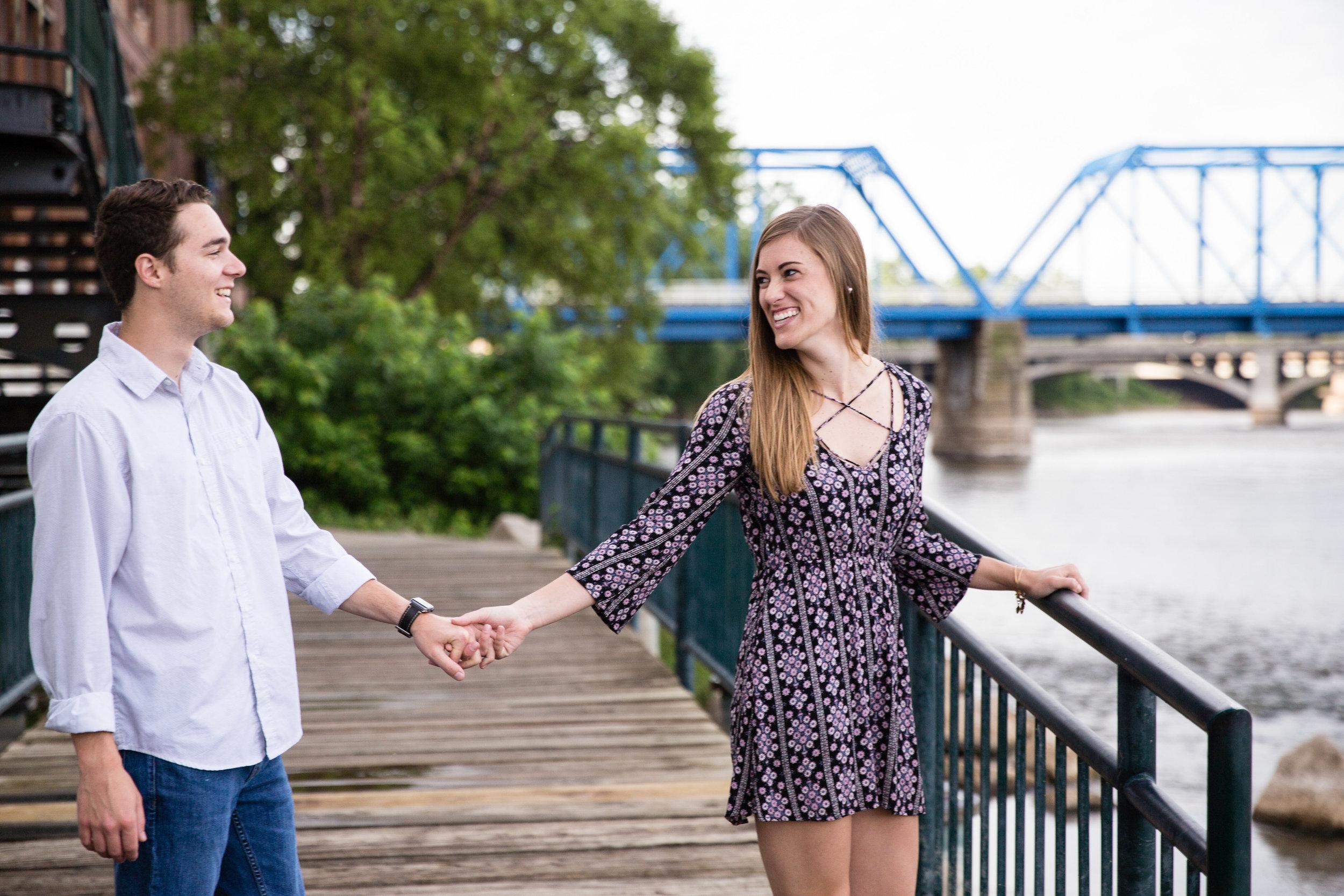 Fun Grand Rapids Couple Holding Hands_Tania Howard Photography.jpg