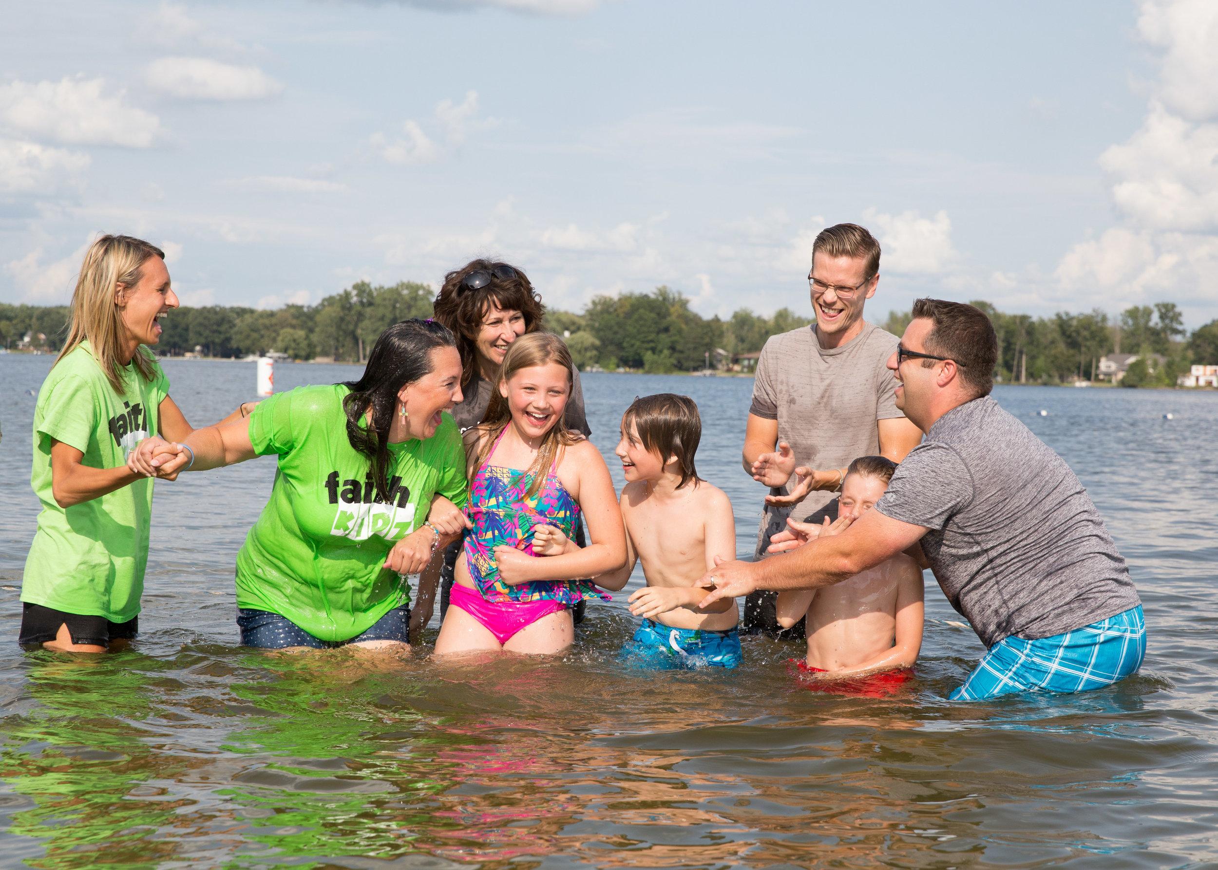 Full Family Baptism at Lake Lansing_Tania Howard Photography.jpg