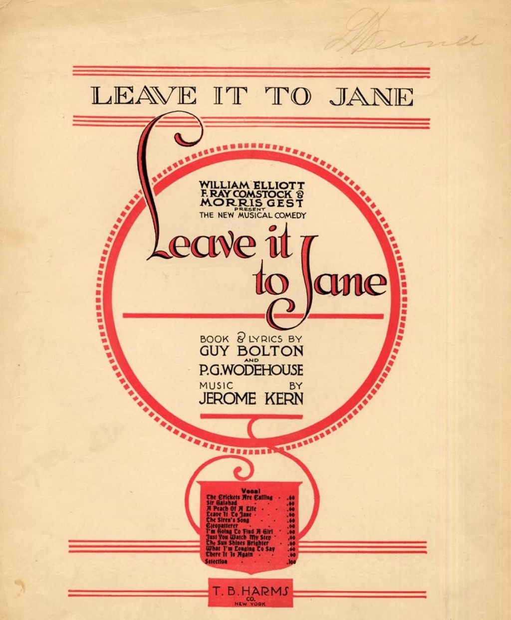 Leave It to Jane sheet music .jpg