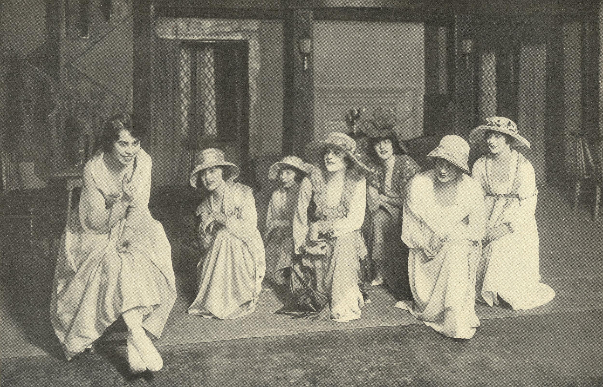 Anna Wheaton and chorus in  Oh, Boy!  (1917)