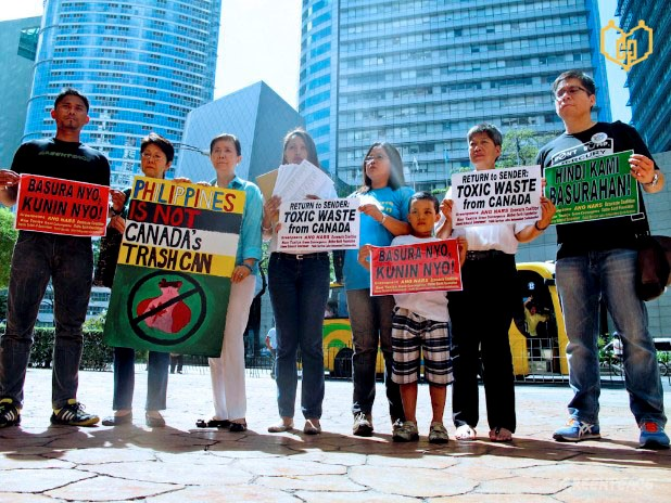 BAN Toxics expresses dissent on the issue of waste shipment of Canada to the Philippines