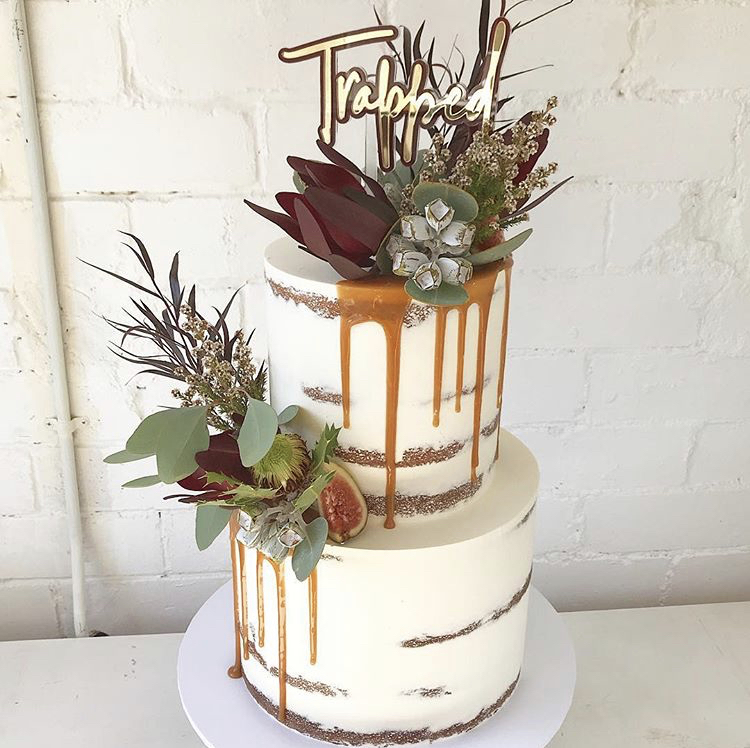 Emma - April 2019 - Thank you, thank you, thank you!!! Not only did you make the most beautiful looking cake to fit perfectly with the rustic farm styling of the wedding but it tasted like absolute magic too!