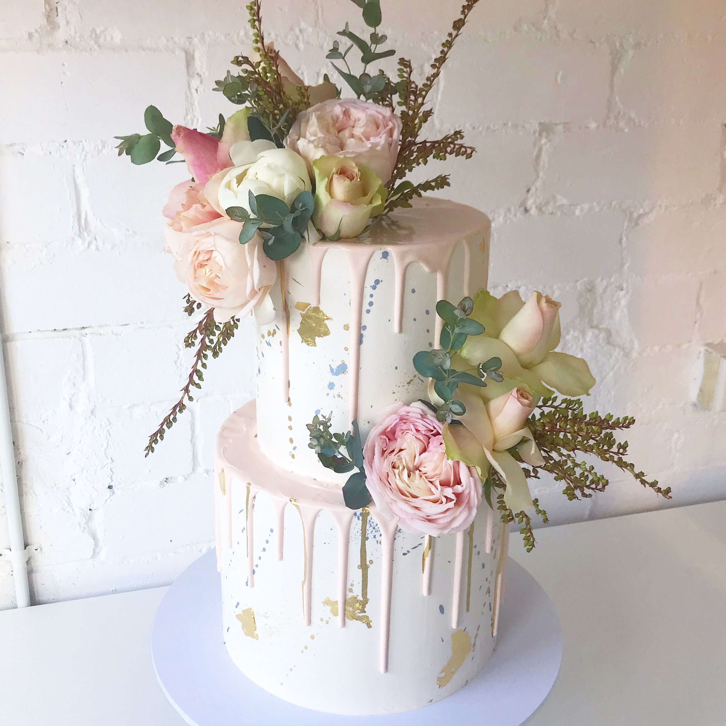 Two Tier Cakes - Three sizes to choose fromFeeds between 30 and 80 depending on sizeStarts at $300Budget for about $450