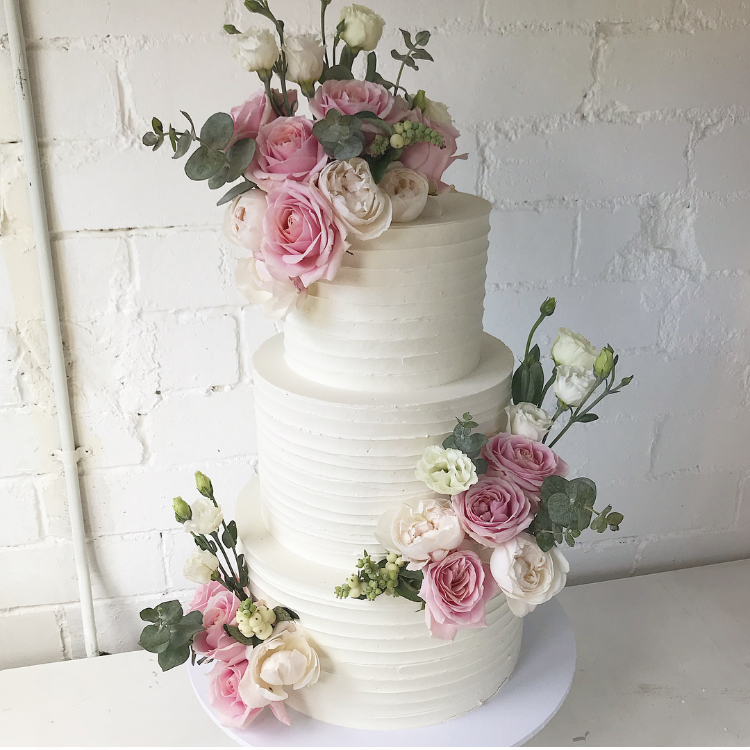 Three Tier Cakes - Two sizes to choose fromFeeds between 80 and 110 depending on sizeStarts at $500Budget for about $680