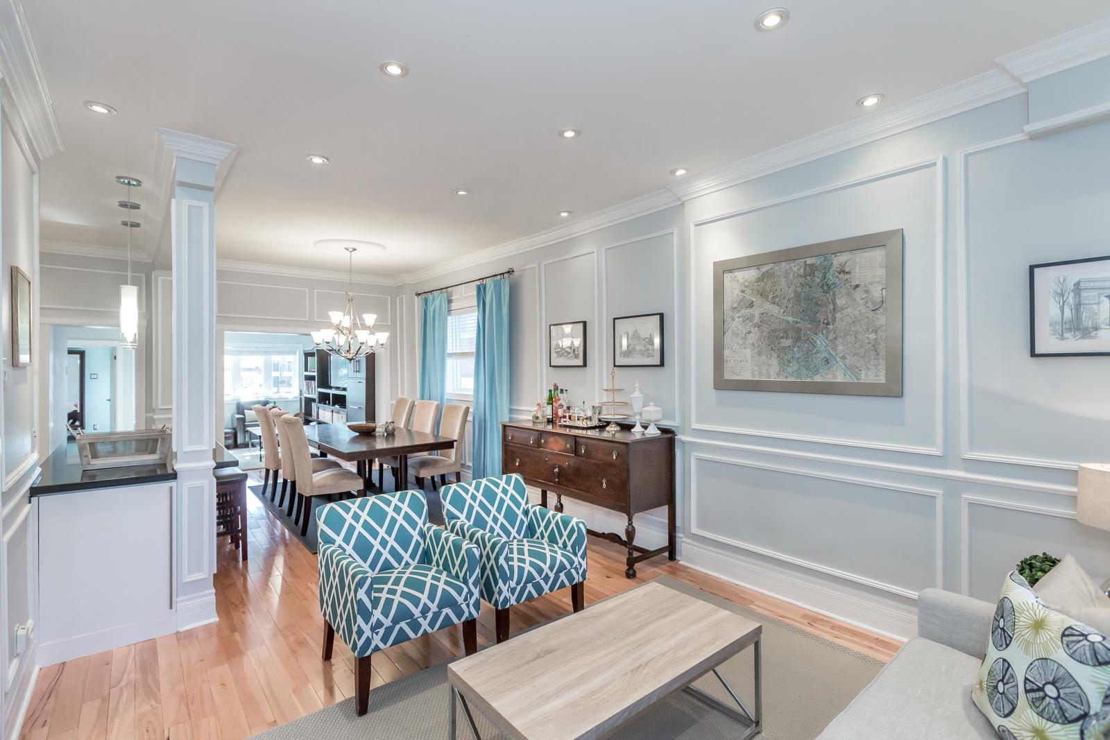Open concept Toronto home