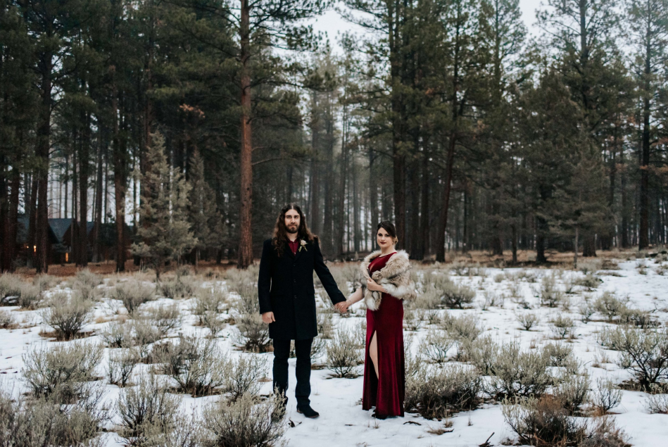 Want to see another? - I recently shot another Five Pine Wedding this January and it was STUNNING. Click to see more images!
