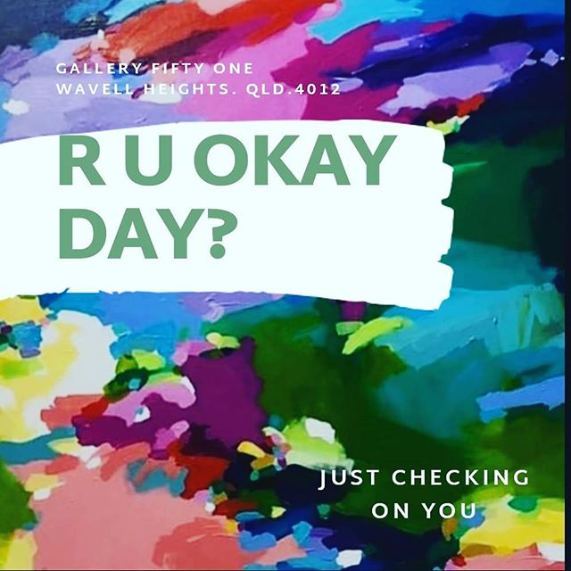 R U OKAY TODAY? #ruokay #checkonfriends #love #caring