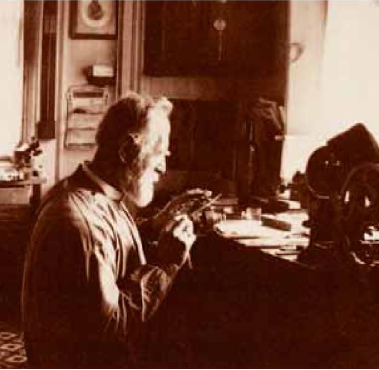 Ulysse Baillod, horloger, Le Locle, 1890.