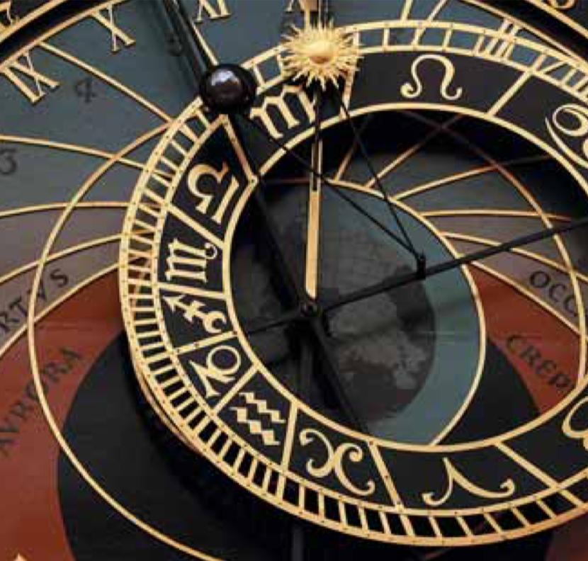 Astronomische Uhr in Prag.