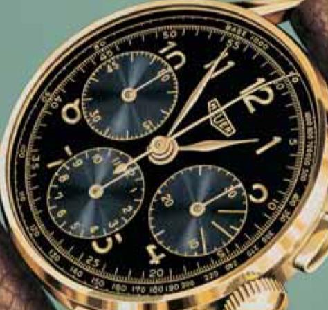 Chronographe: complication industrielle par nature.