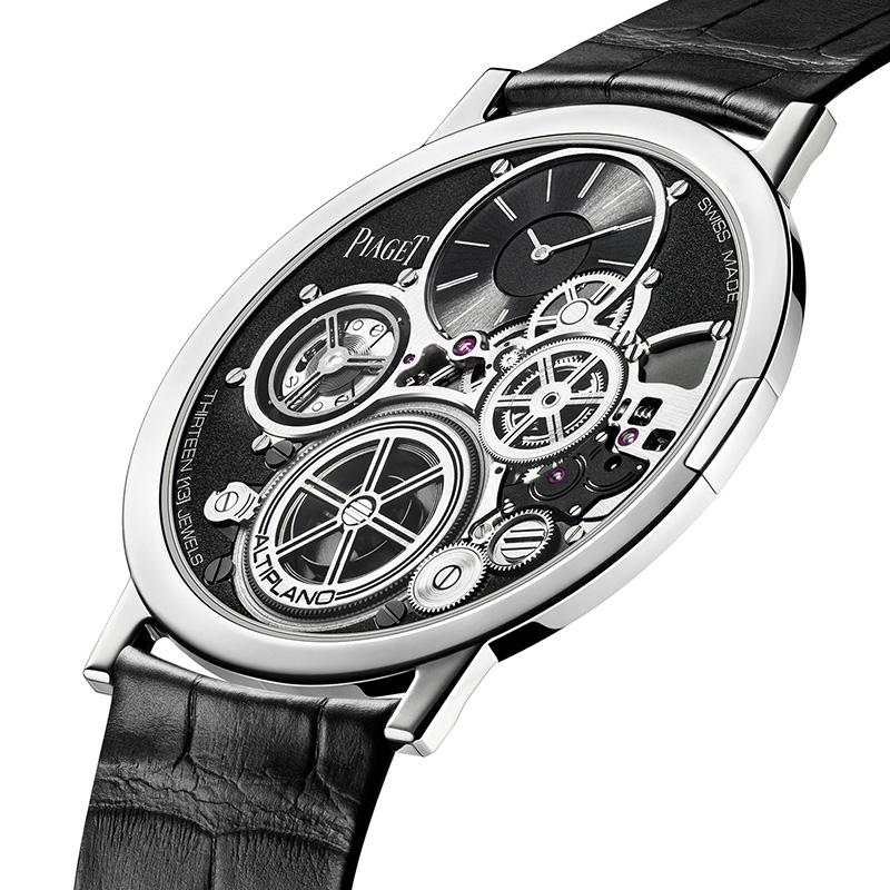 Altiplano Ultimate Concept. La première concept watch de Piaget. Un concentré de technique, plusieurs brevets, produite en quelques exemplaires.