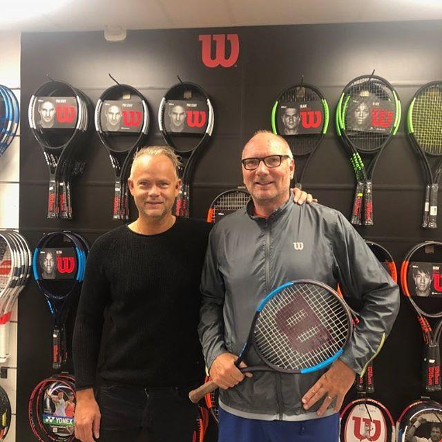 Ett stort tack till Patrik på Tengo Sport för ett grymt samarbete med wilson tennis camp, sommaren 2018 Tillsammans blir vi stsrka👍#wilsontennisswe