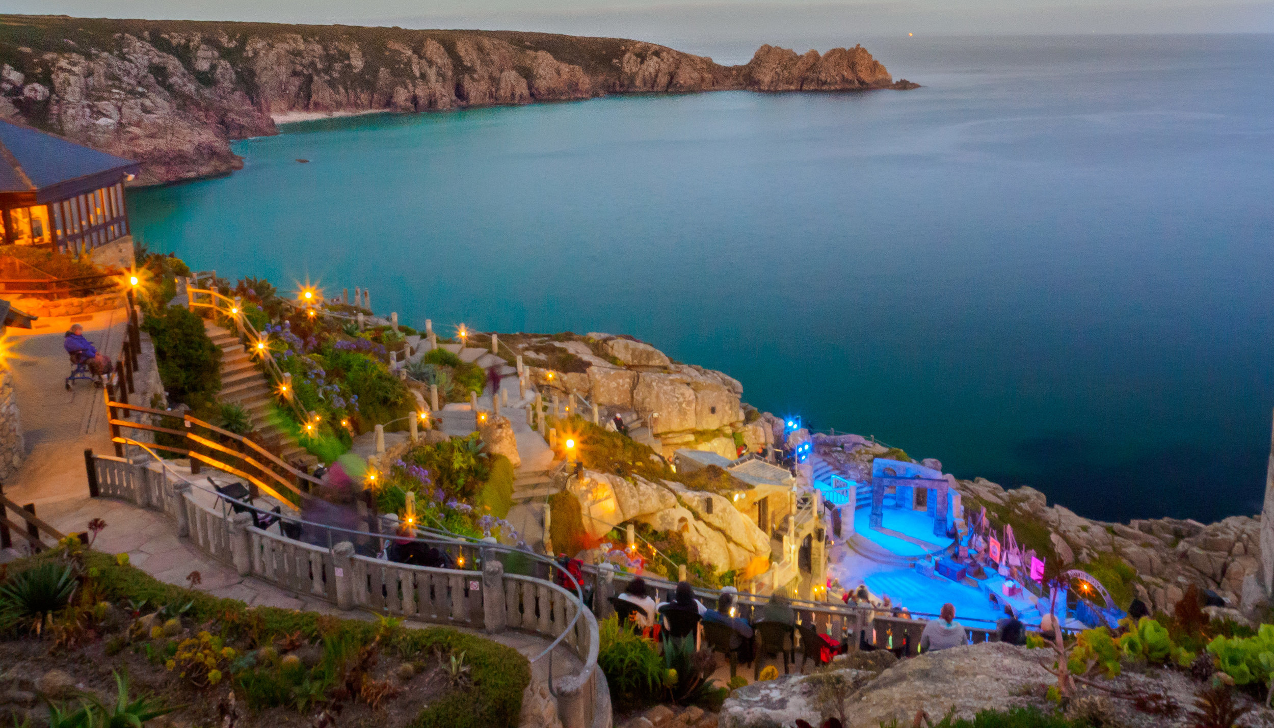 The Minack Theatre. f22, ISO 1600, 4, 24mm