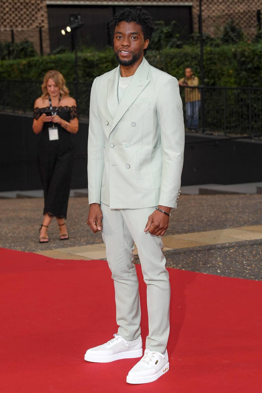 Chadwick Boseman at the GQ Awards