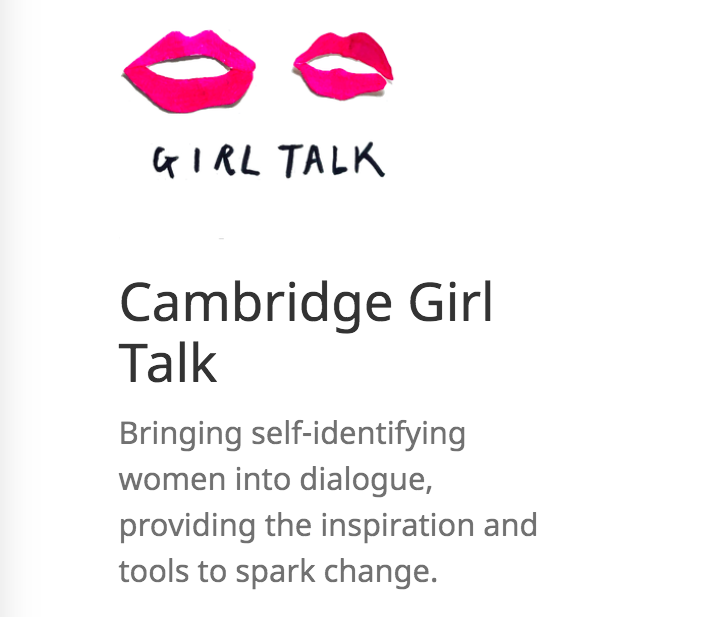 Cambridge Girl Talk  A Warm Welcome to AWOMENfest  -