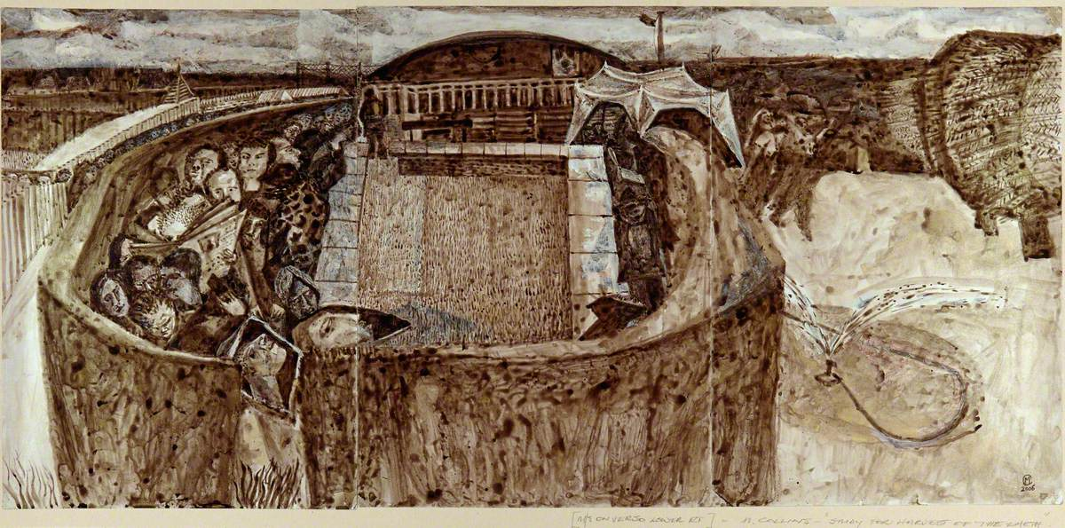 Study for Harvest of the Earth (Pen & Ink - 2006)