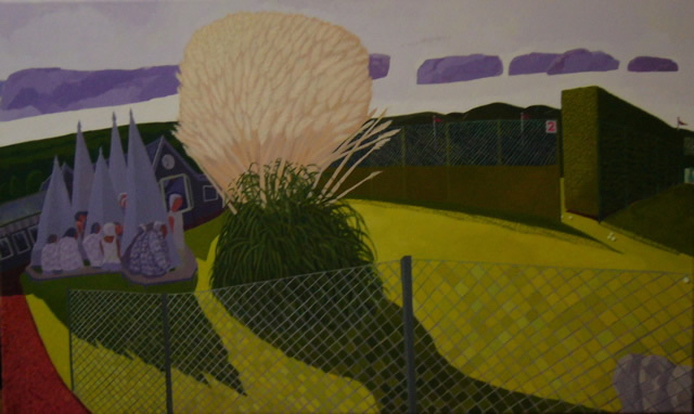 Pampas Paradise (2009 - Acrylic - 60x100cm)