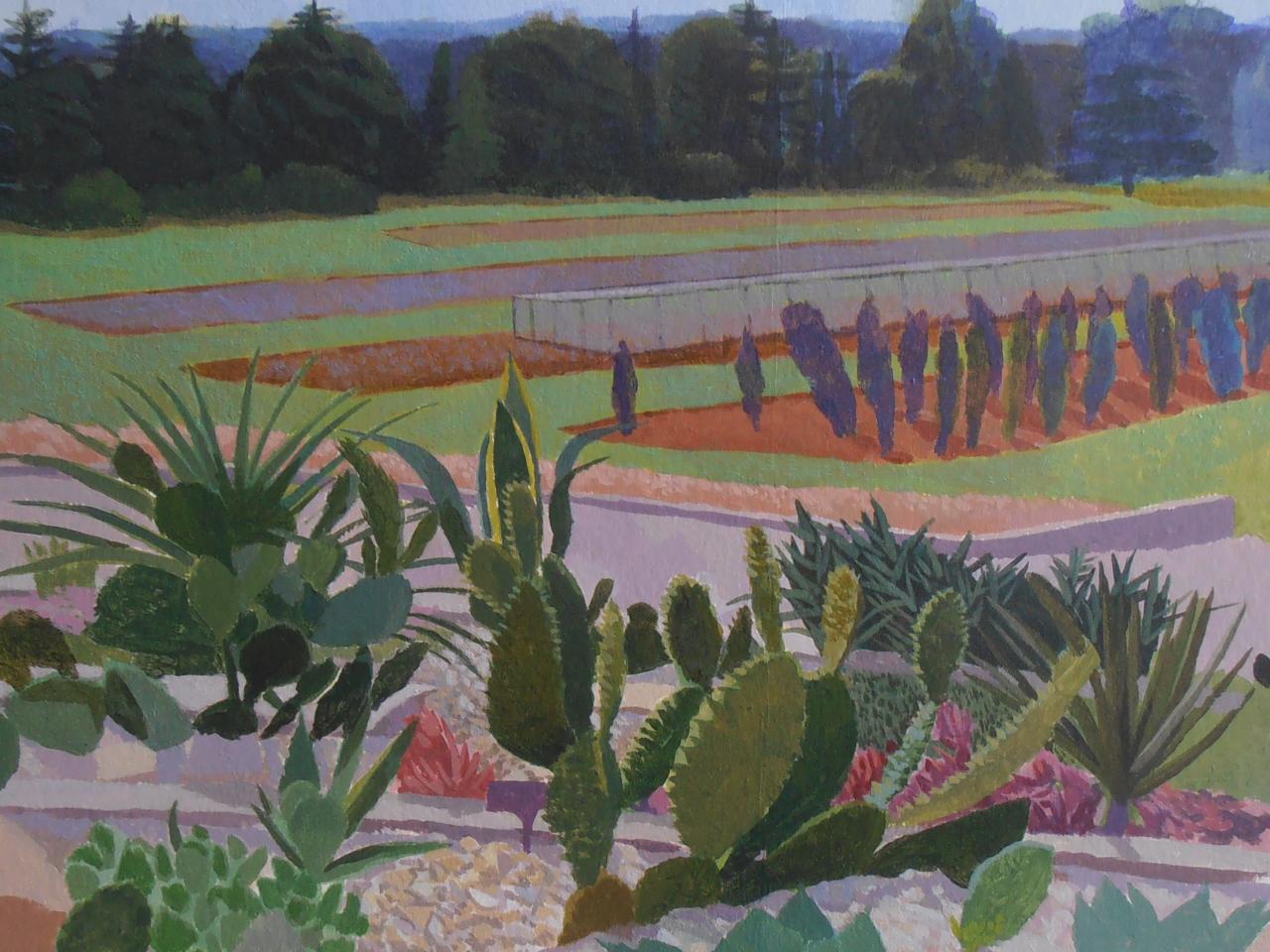 Wisley Cacti - Study (2015)