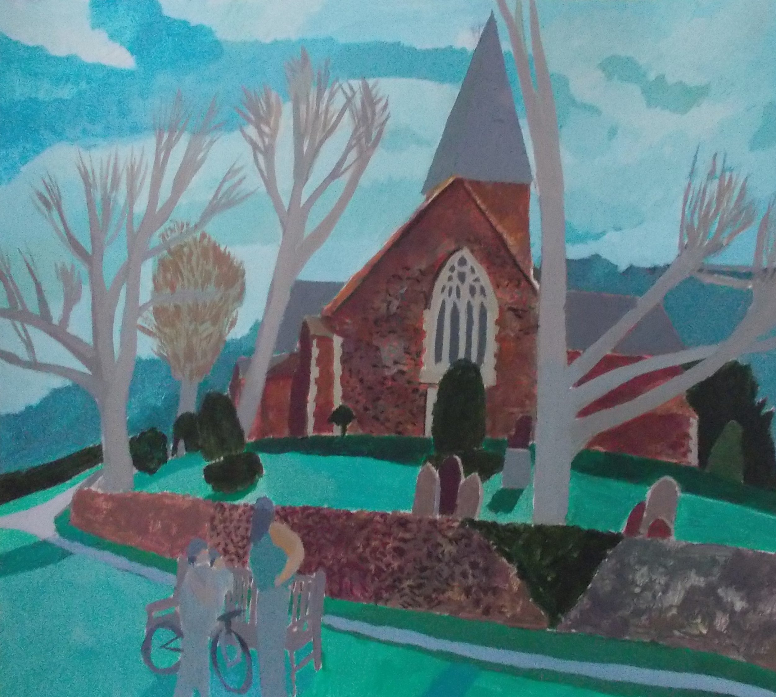 Alfriston Church Study (2017)