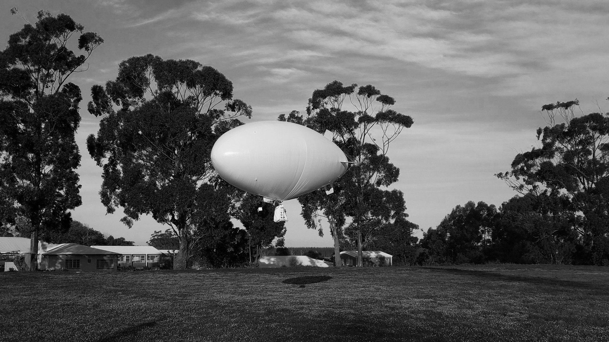 Autonomous Airship being tested   Source: CloudLine