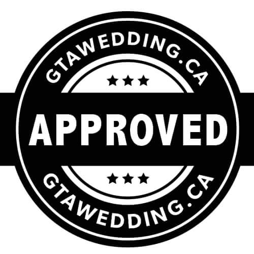 GTA Wedding Approved