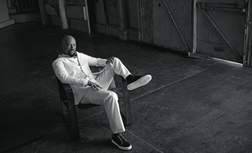 First Photo:Jacket, $890, and trouser, $320, both at carloscampos.com; white cotton shirt, $600, by Dior Homme at Dior, Beverly Hills; Slider sneakers, $575, at pierrehardy.com.