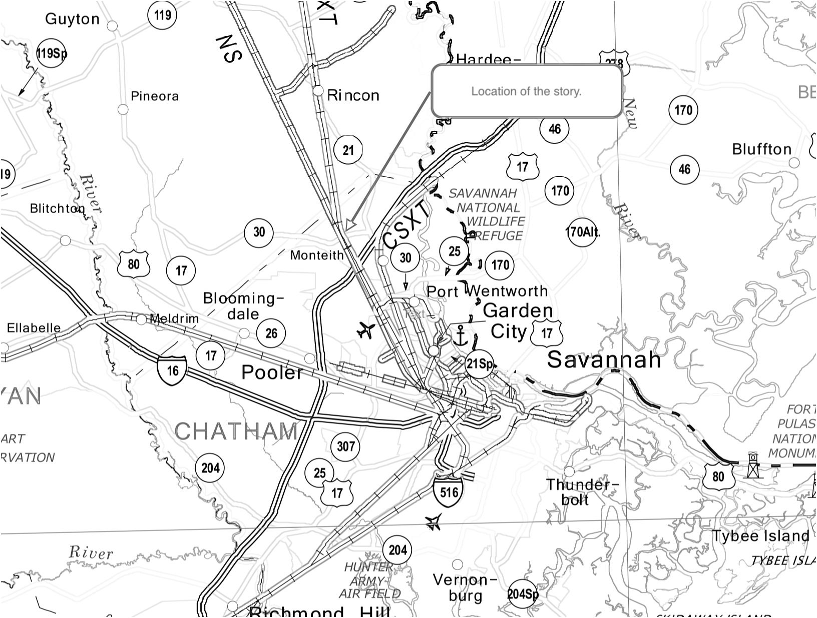 Source: Georgia Department of Transportation (http://www.dot.ga.gov/IS/Rail)