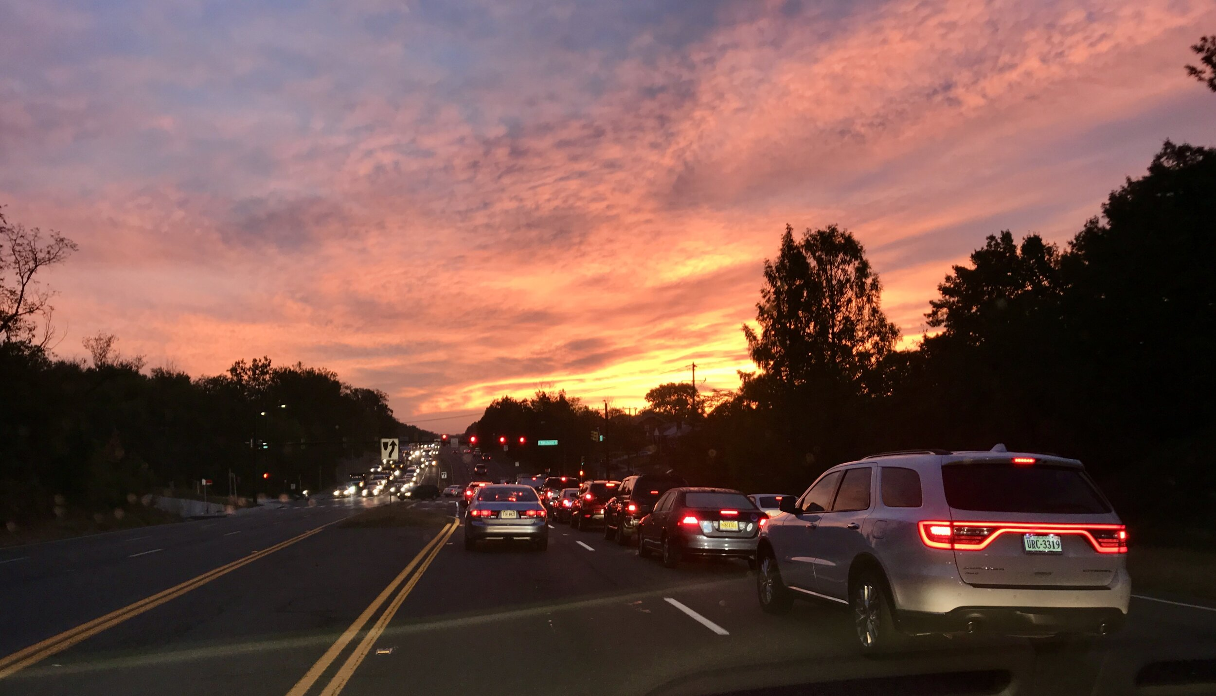 Sunrise: Arlington, Virginia