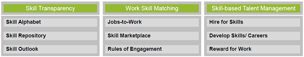 FIG 7   : A FRAMEWORK FOR SKILLS MANAGEMENT (SOURCE: TI-PEOPLE)