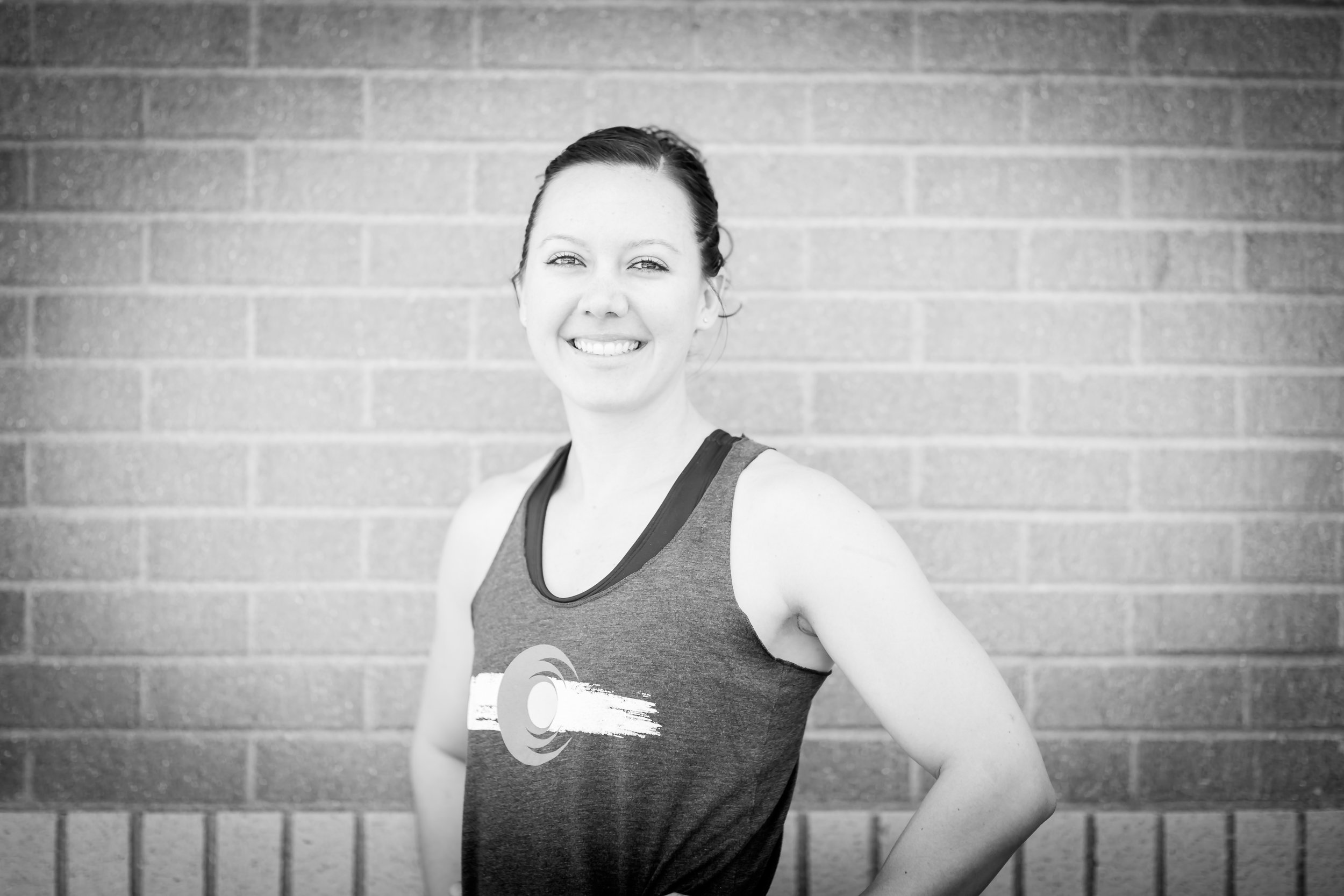 Megan - COACH, CF-L2I started training in CrossFit during my senior year while I was playing basketball at the Air Force Academy and have now been coaching CrossFit for 4 years.I received my Level 1 Certification in 2014 and started coaching at Lightning CrossFit in Florida. I later coached at Bombers CrossFit in Ohio until moving to Colorado Springs last year, and I'm super excited to be coaching again!I received my CrossFit Level 2 Certification in September of 2018, and I also have the USAW L1 Sports Performance Certification and the Precision Nutrition L1 Certification.I have a love and passion for education and teaching, and Aside from coaching CrossFit, I am an Operations Research Analyst in the Air Force and currently teach in the math department at the AF Academy.