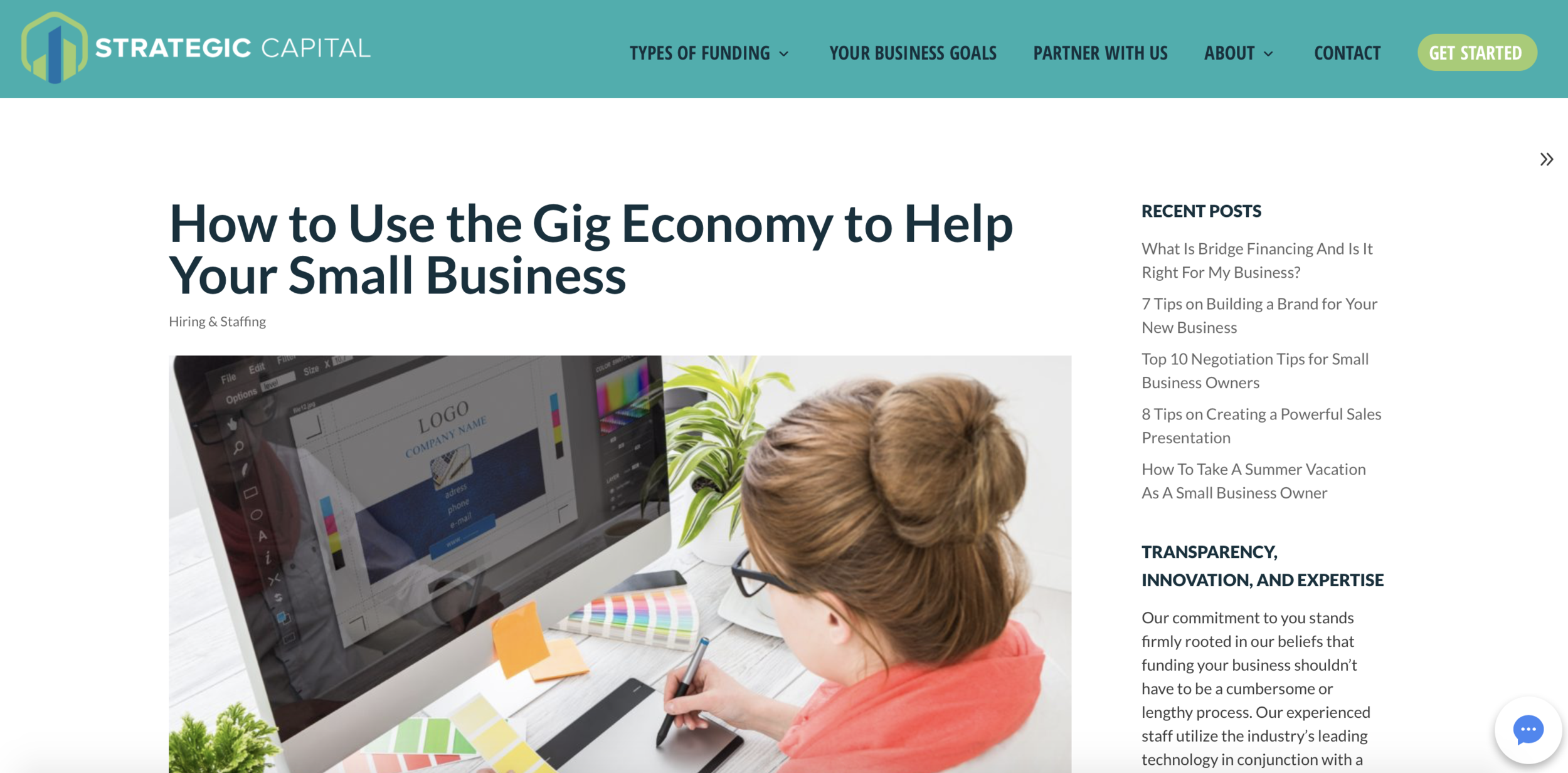 How to Use the Gig Economy to Help Your Small Business || Strategic Capital