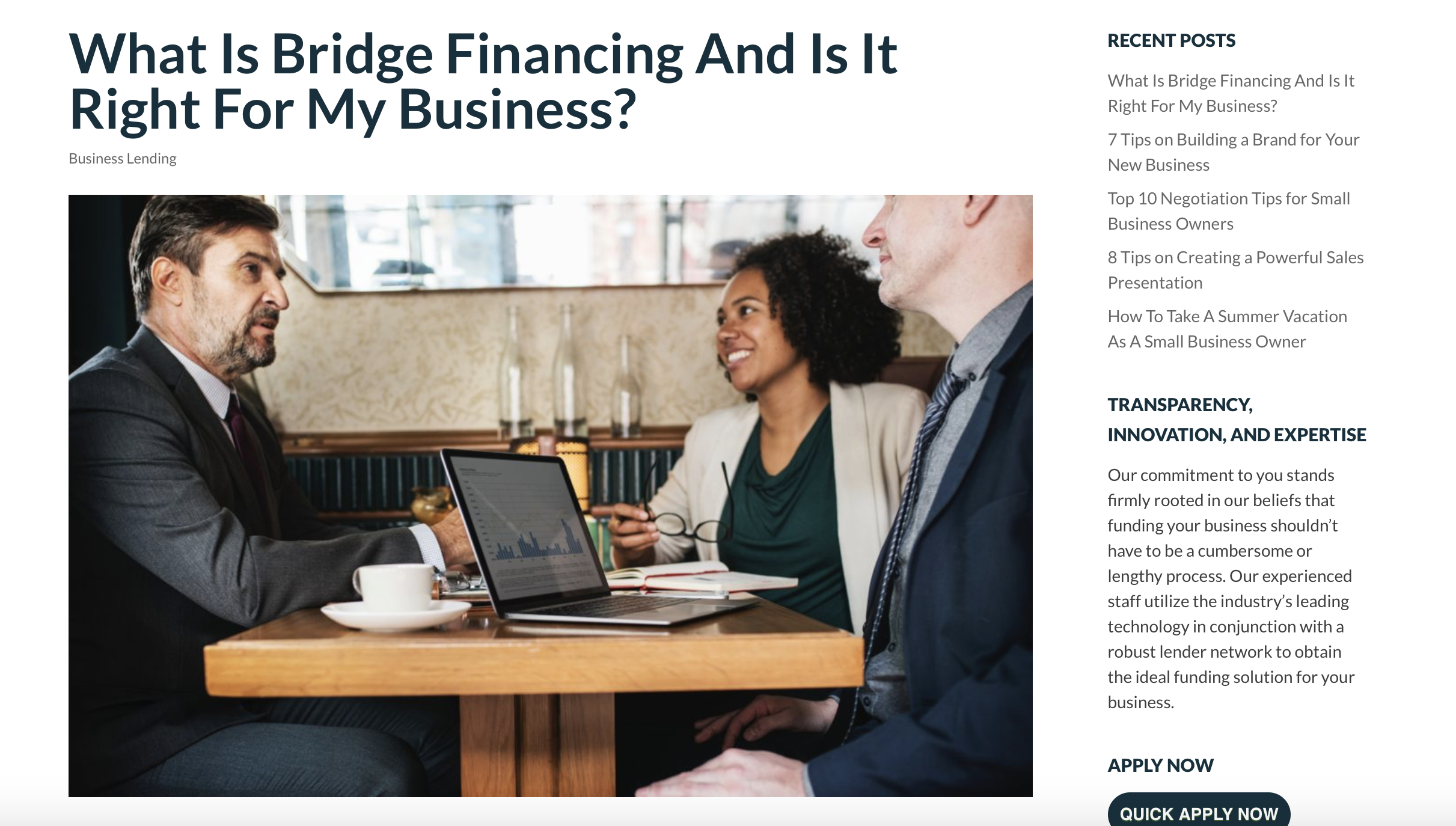 What is Bridge Financing and is it Right for My Business? || Strategic Capital