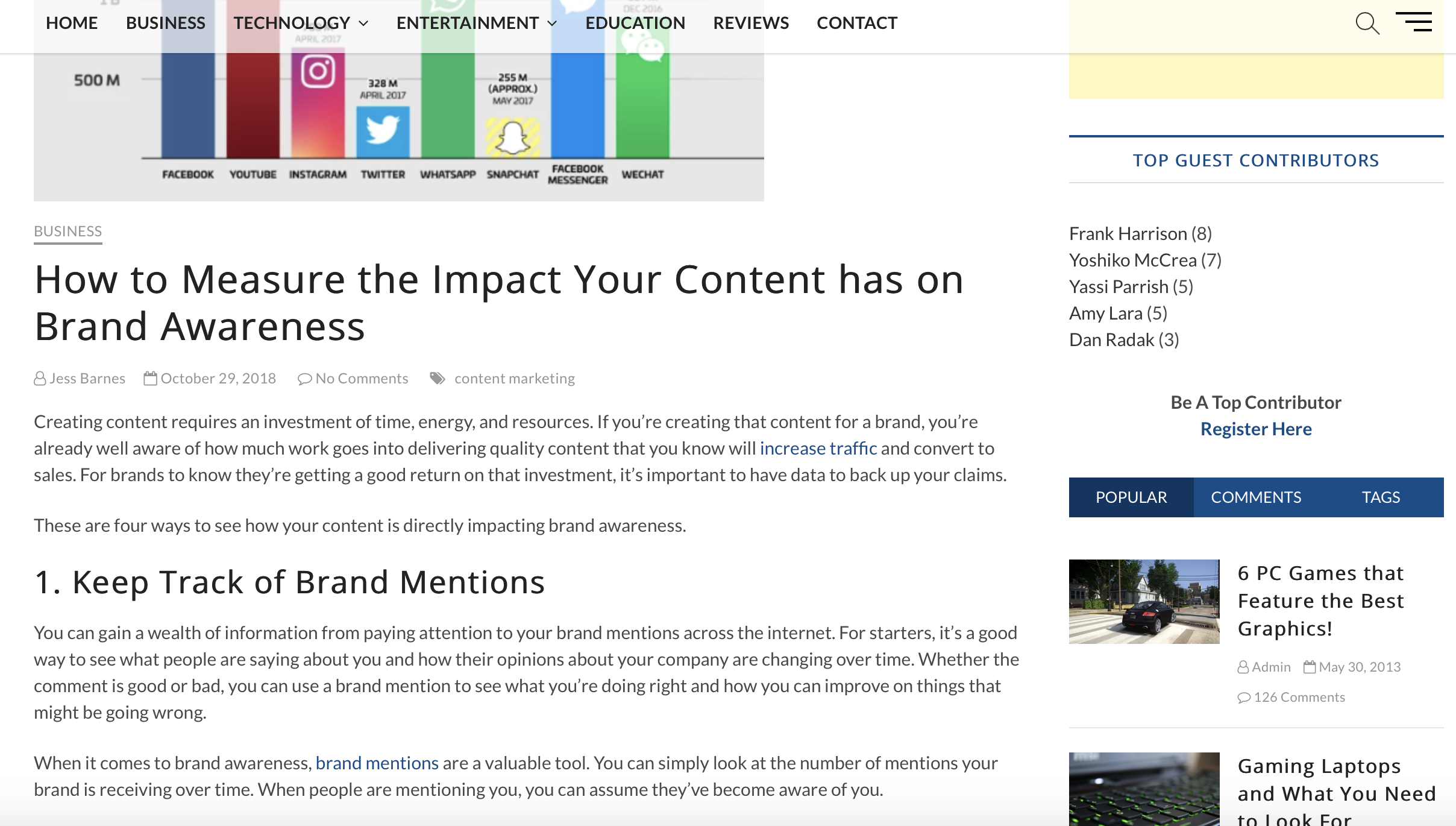 How to Measure the Impact Your Content Has On Brand Awareness || Tech Mundu