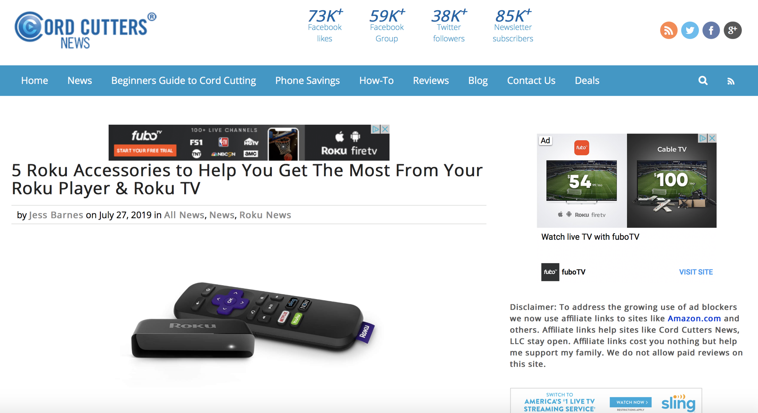 5 Roku Accessories to Help You Get the Most From Your Roku Player || Cord Cutters News