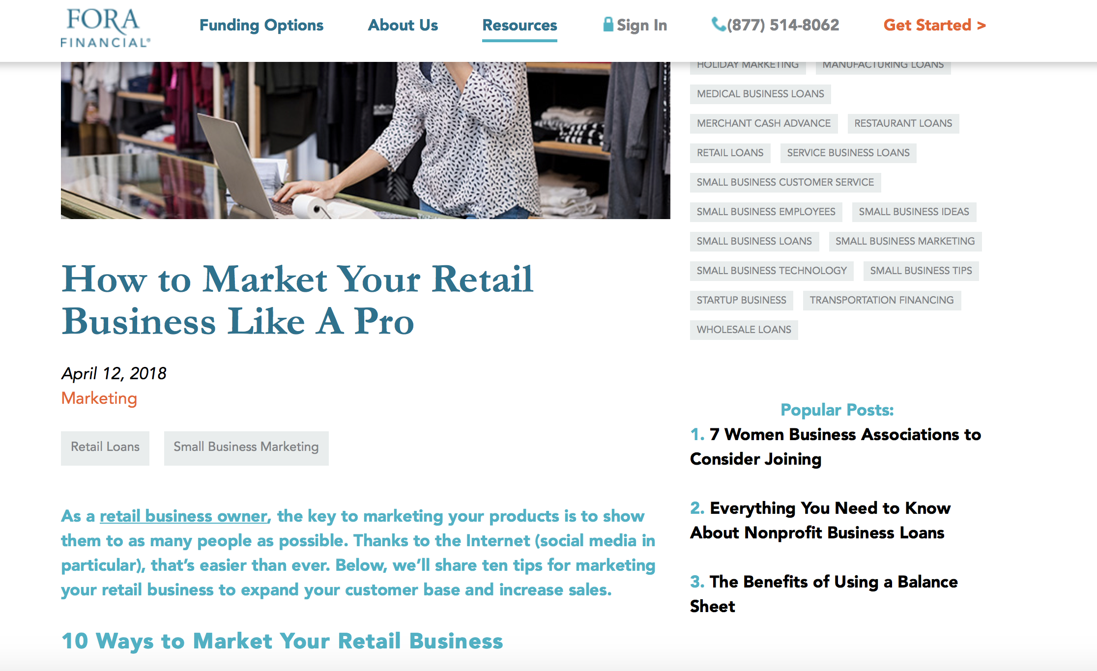 How to Market Your Retail Business Like a Pro || Fora Financial