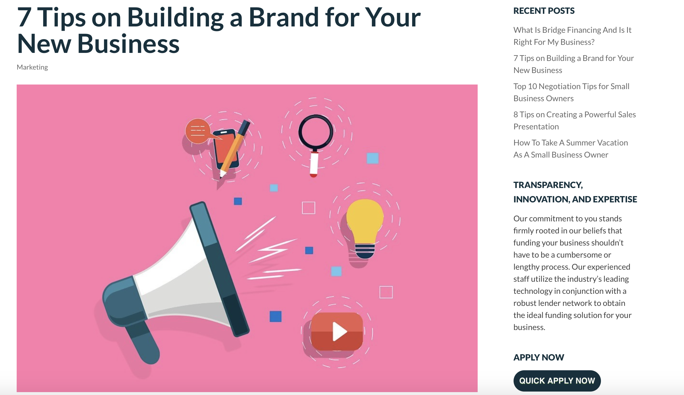 7 Tips on Building a Brand for Your New Business || Strategic Capital