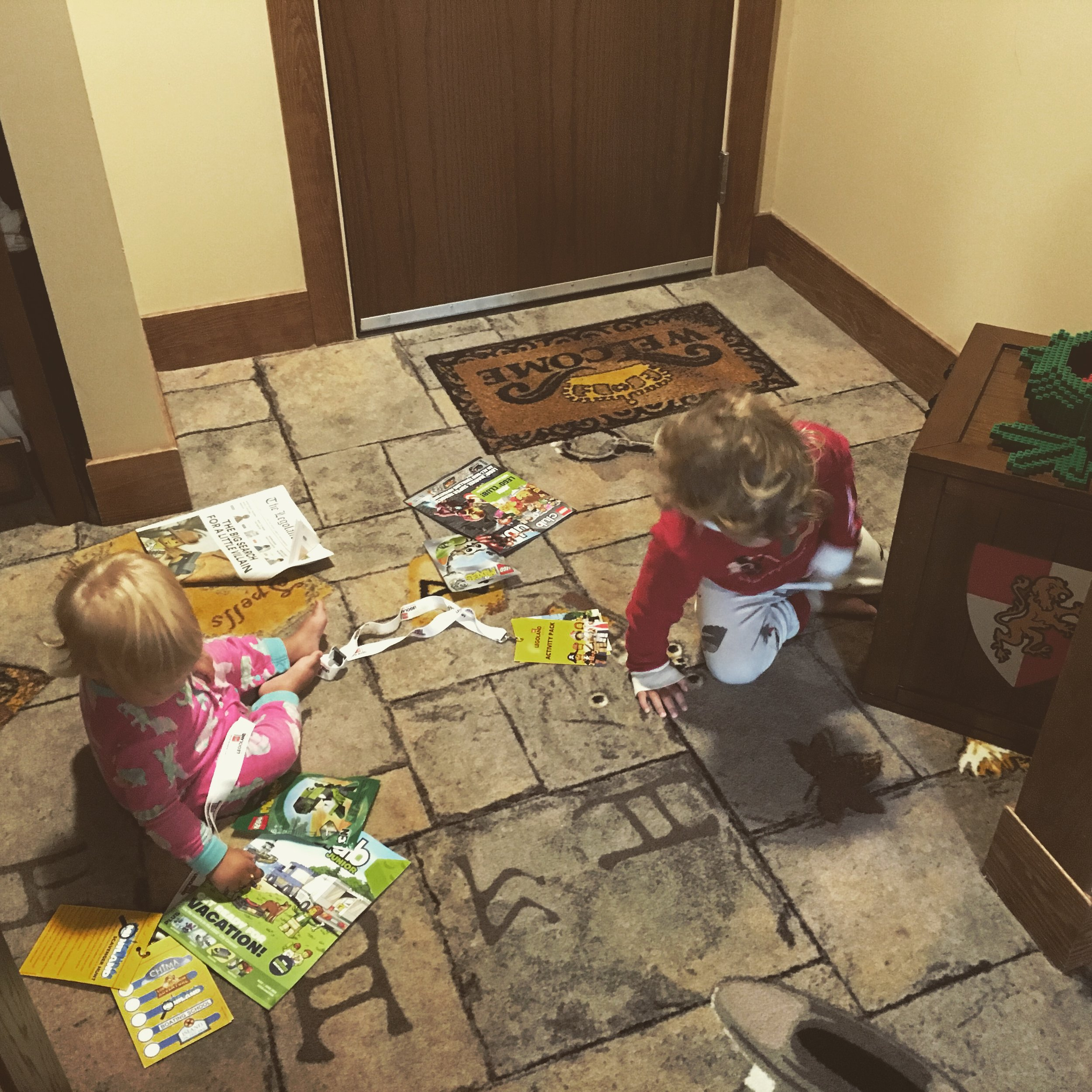 """Discovering the """"hidden treasure"""" in our room."""