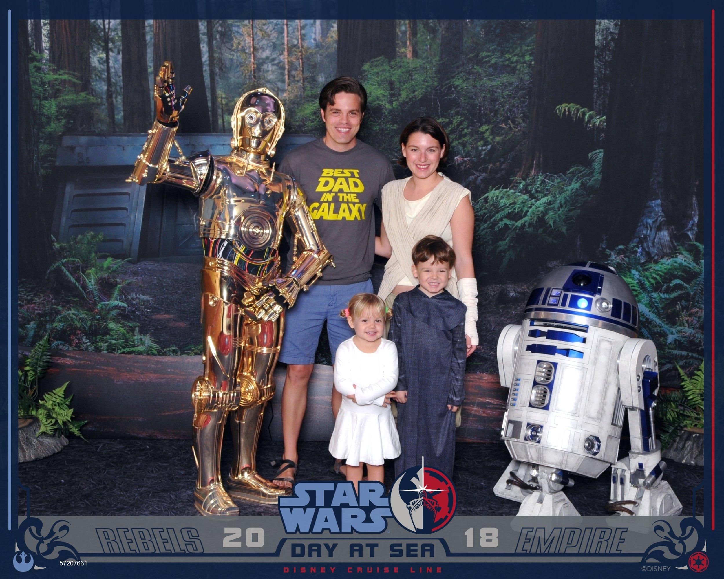 Disney Fantasy Star Wars Day At Sea