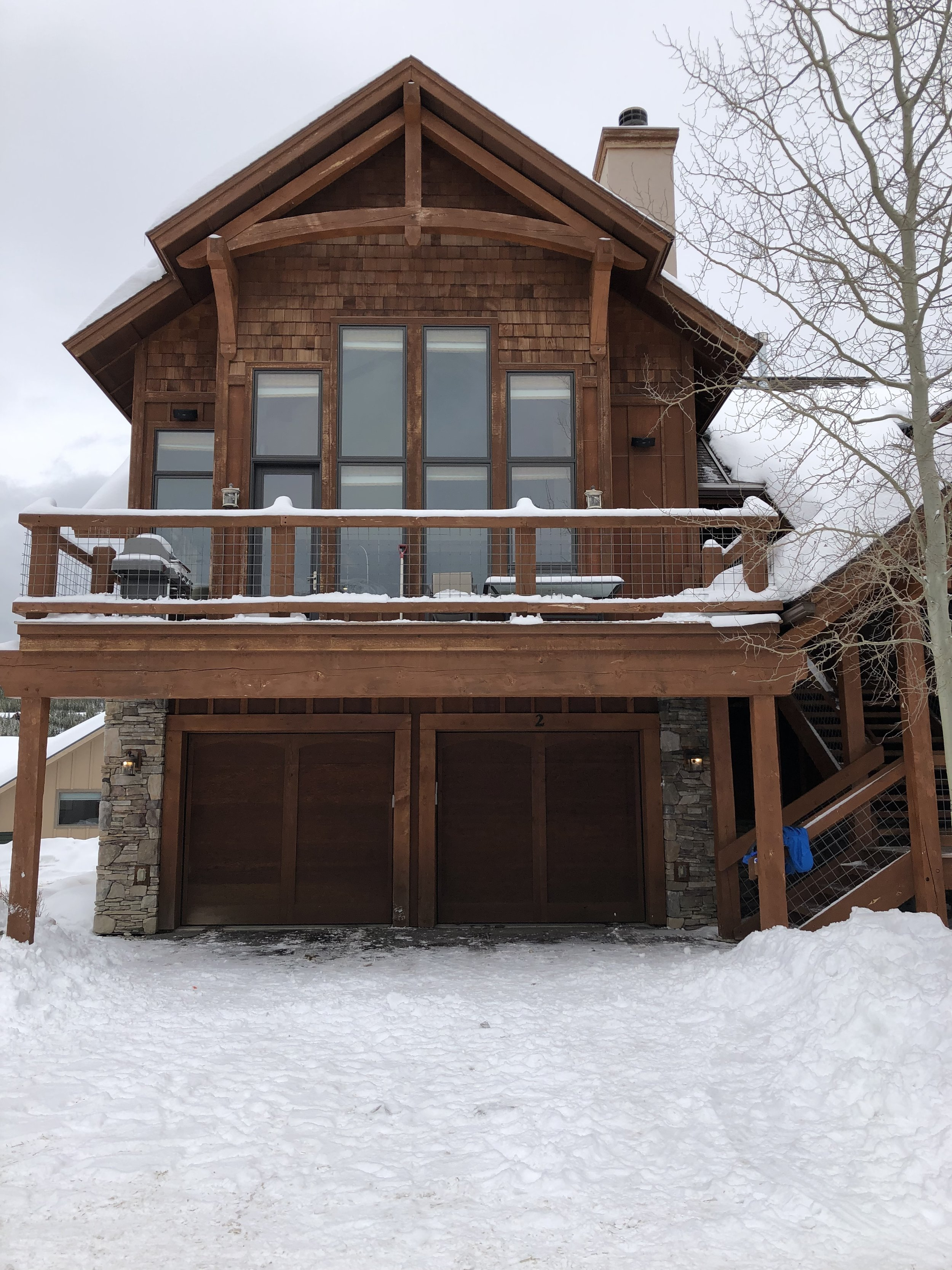 Our Rental in Big Sky, Montana