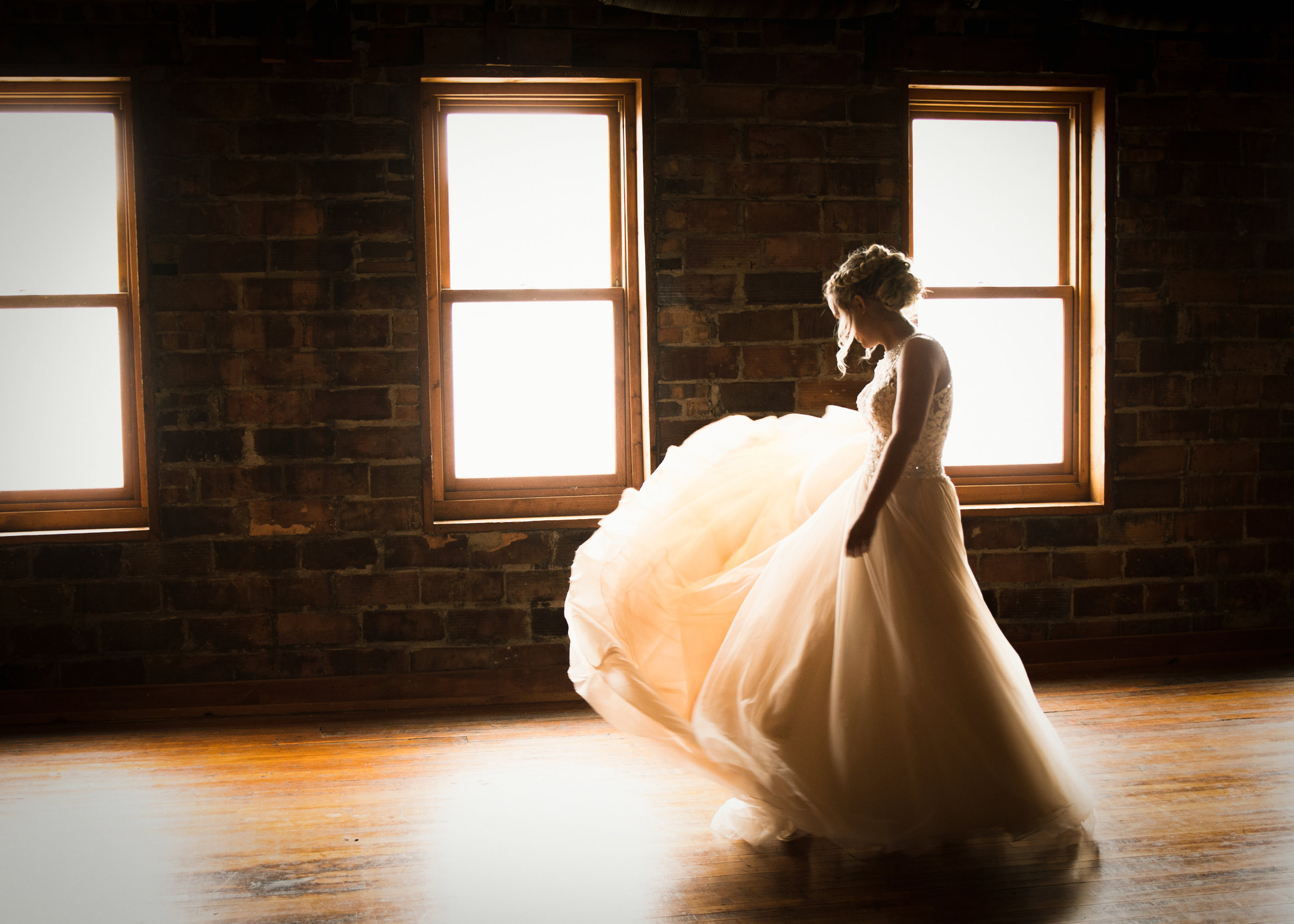 Kristie Dancing on Her Wedding Day