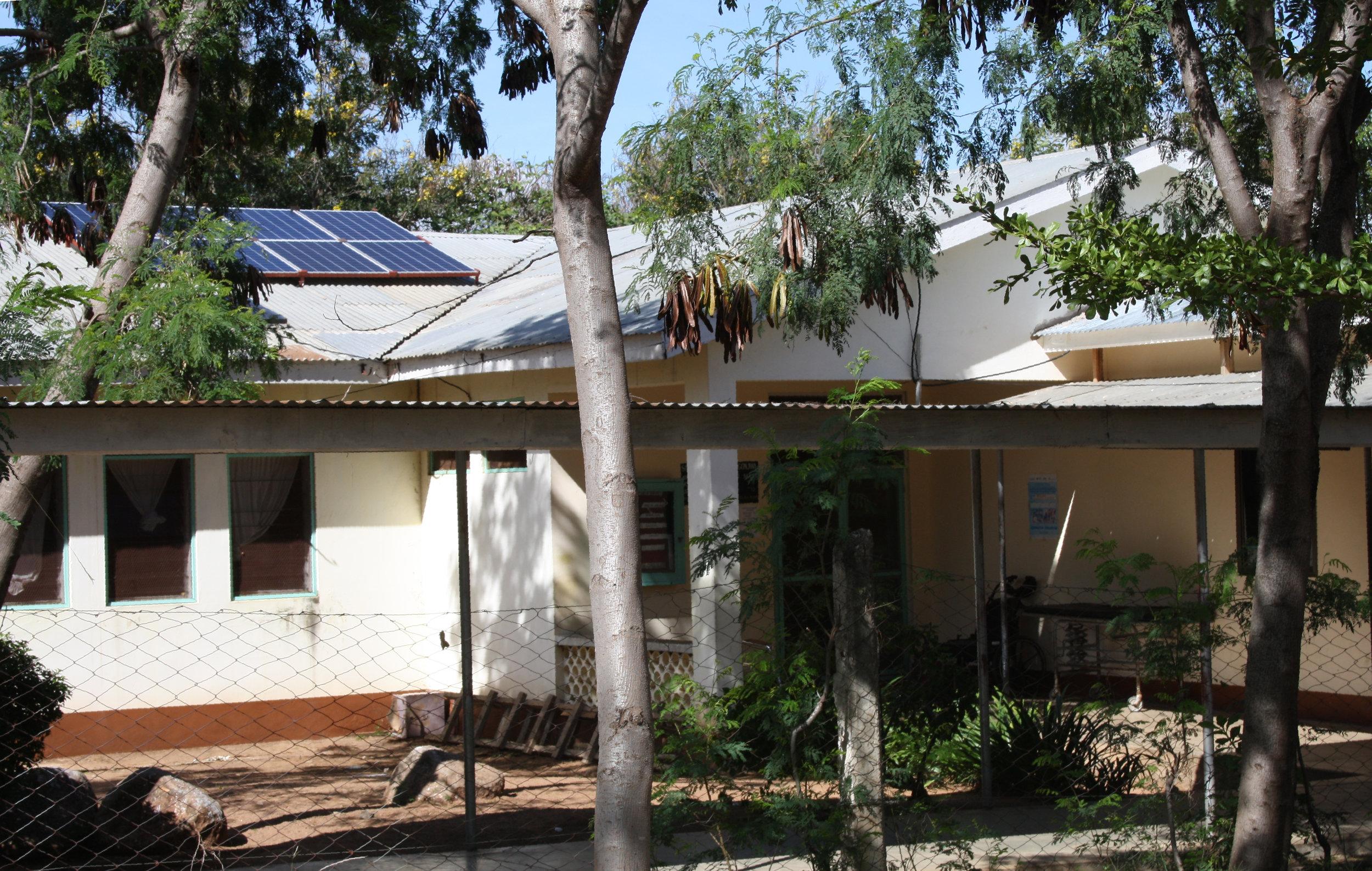 Solar cells on the maternity ward