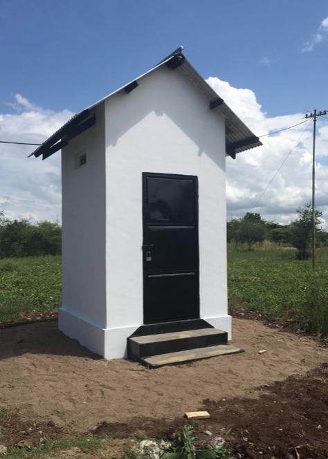 A shed for safe storage of chlorine