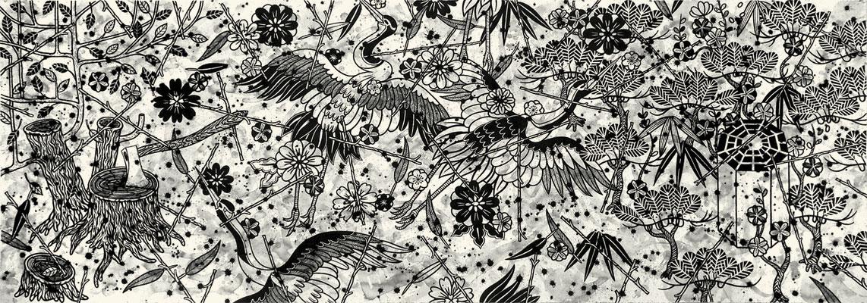 Cranes Calling From A Hidden Place