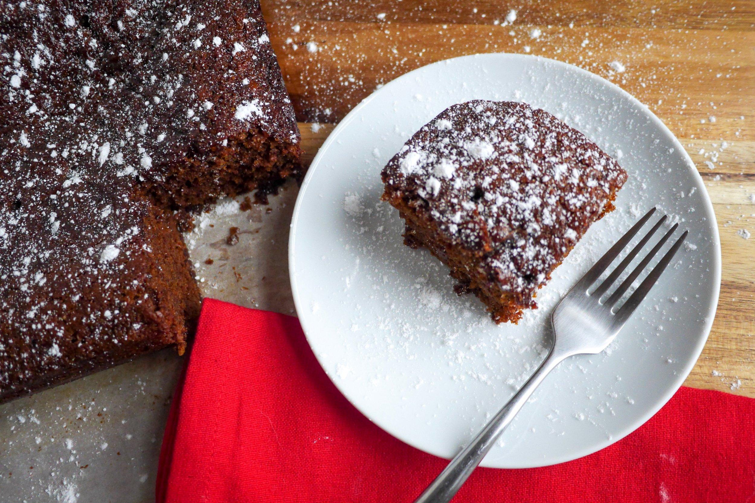 Ginger Molasses Cake