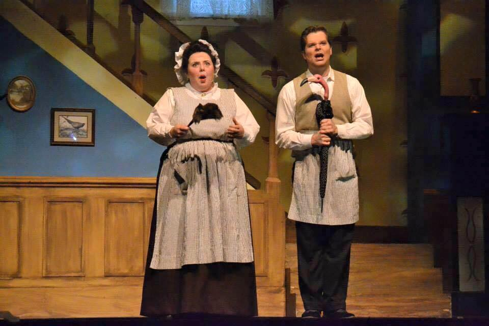 Performance as Mrs. Brill in University of Southern Mississippi's Production of  Mary Poppins   Photo Credit: Mike Lopinto
