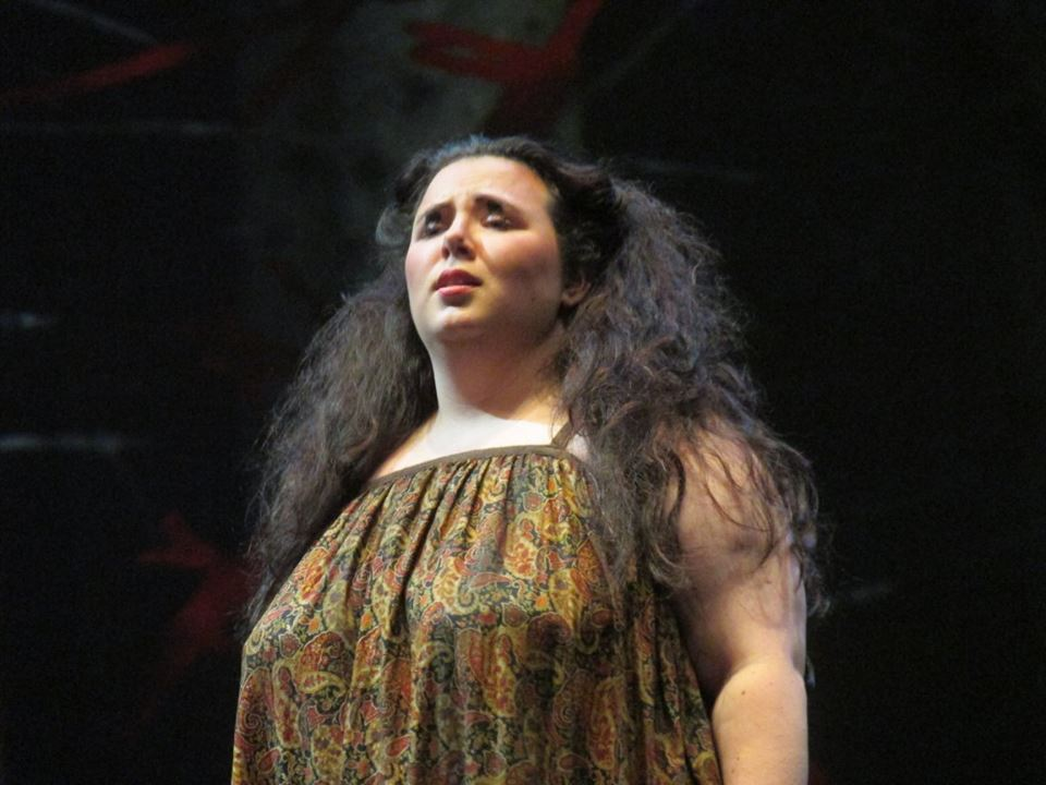 Performance as Tituba in Miami Music Festival's Production of  The Crucible   Photo Credit: Kristin Pulido