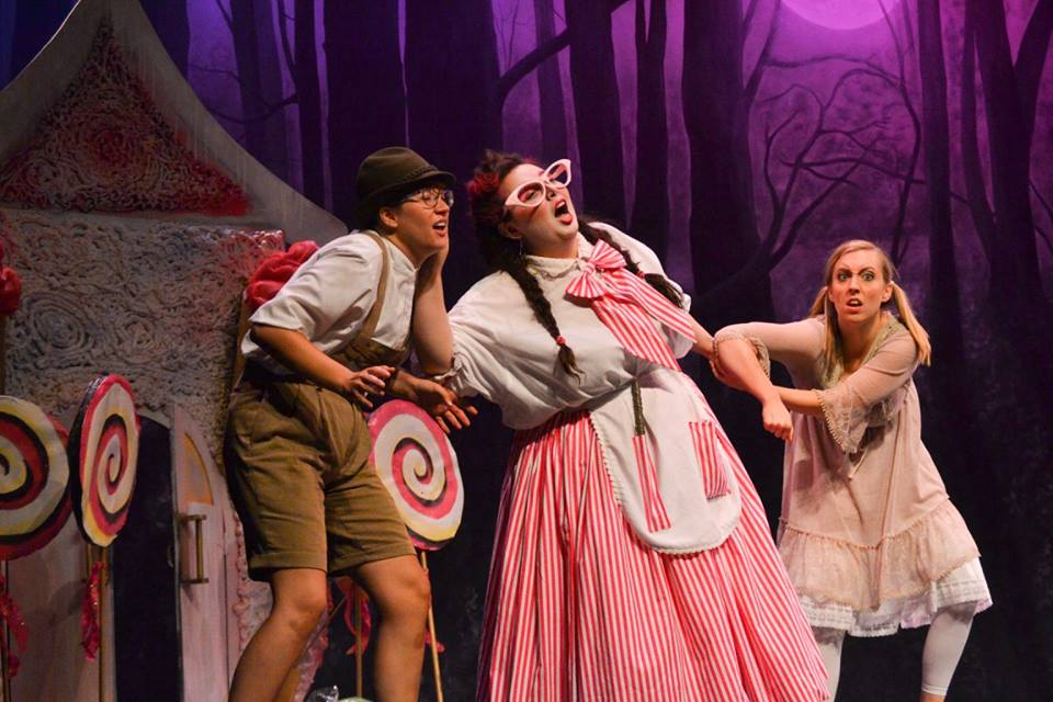 Performance as The Witch in  Hansel and Gretel  for Southern Miss Symphony and Opera Outreach  Photo Credit: Stacey Trenteseaux