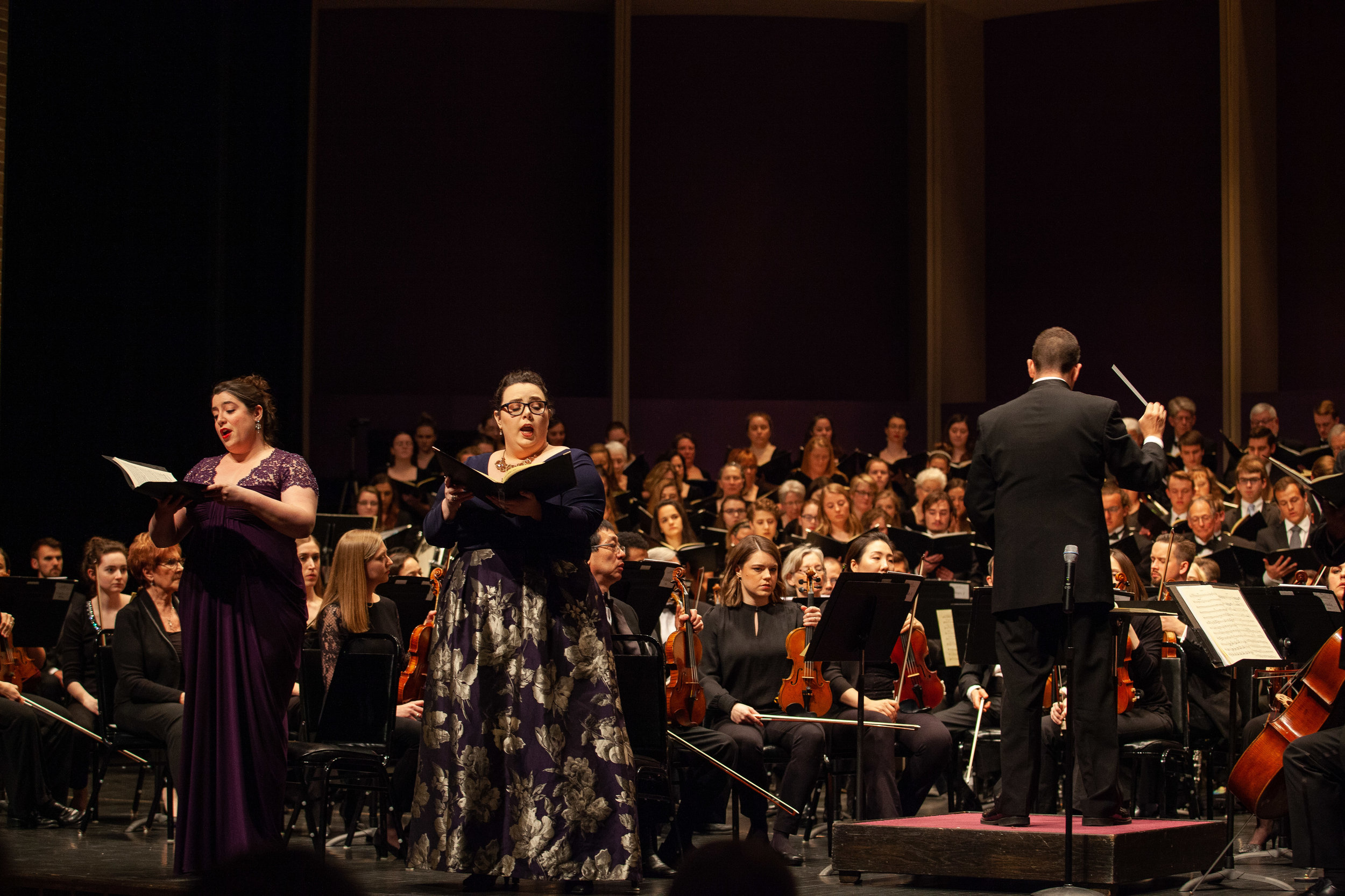 Performance of Beethoven's 9th Symphony with Jackson Symphony  Photo Credit: Coley Kennedy