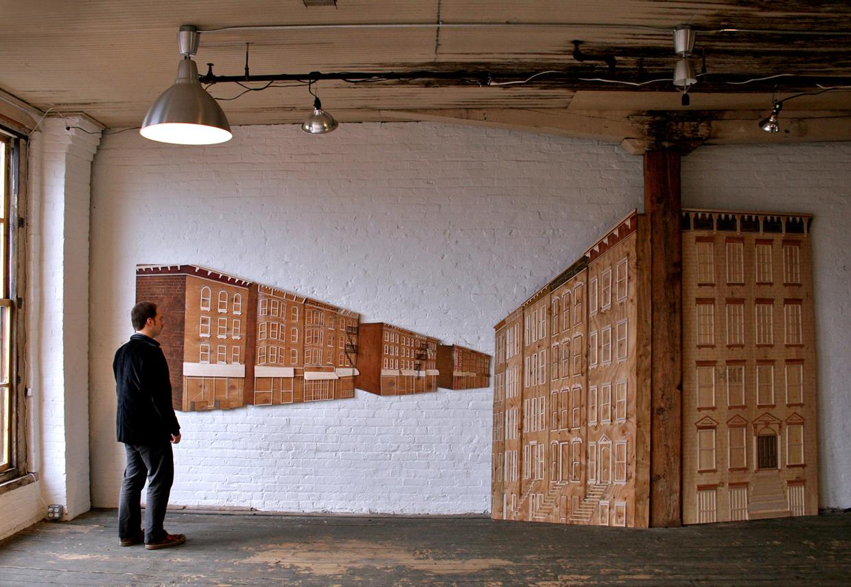 """Installation view, 210x96"""""""